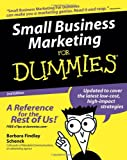 Schenck, Barbara Findlay: Small Business Marketing For Dummies