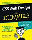 Richard Mansfield: CSS Web Design For Dummies