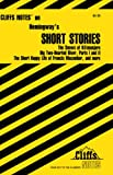 Roberts, James L.: Cliffs Notes on Hemingway&#39;s Short Stories