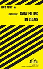 CliffsNotes on Guterson's Snow Falling on…