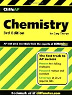 CliffsAP Chemistry by Gary S. Thorpe