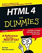 HTML for Dummies by Ed Tittel