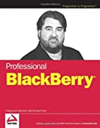Professional BlackBerry by Craig J. Johnston