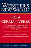 Swick, Edward: Webster&#39;s New World 575+ German Verbs