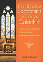 Handbook of Sacraments for Today's…
