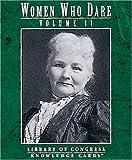Pomegranate: Women Who Dare, Vol. II: Knowledge Cards™
