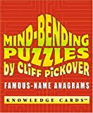 Pomegranate: Mind-Bending Puzzles: Famous-Name Anagrams Knowledge Cards Deck
