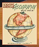 Pomegranate: Geography Quiz Deck: Scientific American Knowledge Cards Deck
