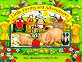 Brookes, Kate: Little Farmyard Adventures: Four Delightful Story Books (Carry Cases)