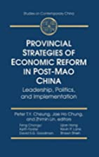 Provincial Strategies of Economic Reform in…