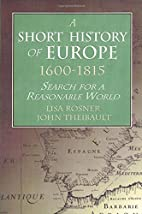 A Short History of Europe, 1600-1815: Search…