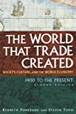 Pomeranz, Kenneth: The World That Trade Created: Society, Culture, And the World Economy, 1400 to the Present