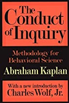 The Conduct of Inquiry: Methodology for…