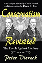 Conservatism Revisited: The Revolt Against…