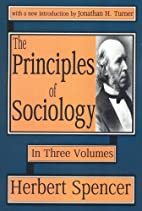 The Principles of Sociology in Three…