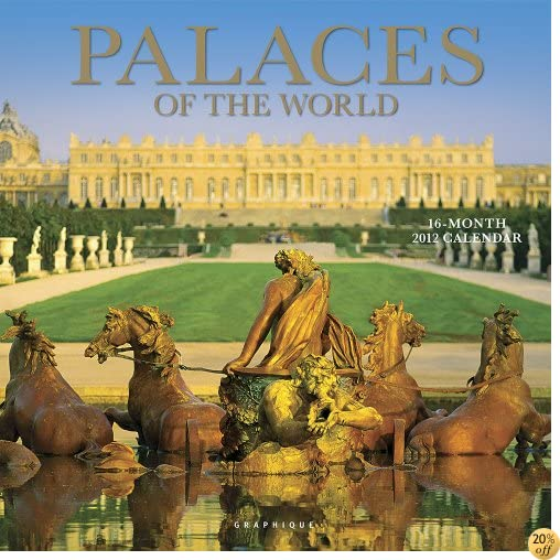 2012 Palaces of the World Wall Calendar