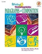 Writing & Thinking Skills: Paragraphs and…
