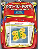 Not Available: Homework Helper Dot-to-dot, Puzzles, And Games, Grades Prek to 1