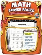 Math Power Packs, Grade 3: Reproducible…