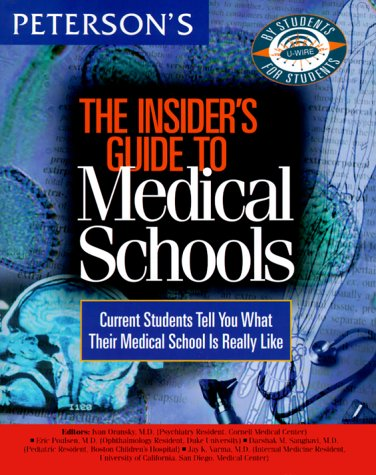 insiders-guide-to-medical-schools-1999