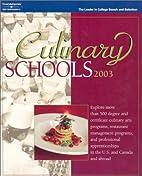 Culinary Schools 6th ed (Culinary Schools,…