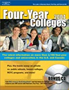 Four Year Colleges 2004 by Peterson's