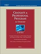 Graduate & Professional Programs: An…