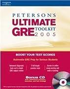 Ultimate GRE Tool Kit w/CDRom 1st ed…