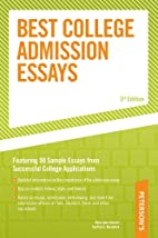 Best College Admission Essays by Mark Alan…