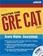 Master the GRE, 2007/e w/CD-ROM by Arco