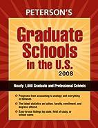 Graduate Schools in the U.S. 2008…