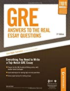 Arco GRE: Answers to the Real Essay…