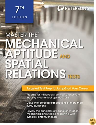 TMaster The Mechanical Aptitude and Spatial Relations Test (Peterson's Master the Mechanical Aptitude & Spatial Tests)