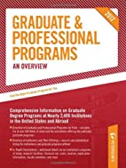 Graduate & Professional Programs: An…