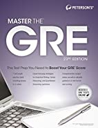 Master the GRE, 23rd Edition by Margaret…