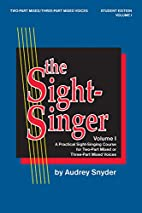 The Sight-Singer for Two-Part…