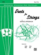Duets for Strings, Book 1, Violin (Belwin…