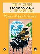John W. Schaum piano course : leading to…