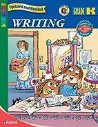 Spectrum Writing, Kindergarten (Spectrum) by…