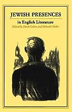 Jewish Presences in English Literature by…