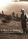 Gerald L. Pocius: A Place To Belong: Community Order and Everyday Space in Calvert, Newfoundland