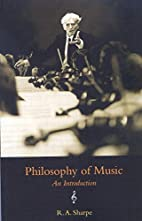 Philosophy Of Music: An Introduction by R.…