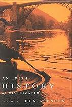 An Irish History of Civilization [2 volume…