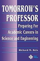 Tomorrow's Professor: Preparing for Careers…
