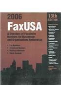 FaxUSA 2006: A Directory of Facsimile…