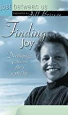 Finding joy : developing patterns for a…