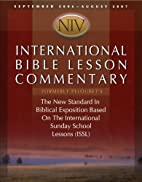 International Bible Lesson Commentary - NIV…