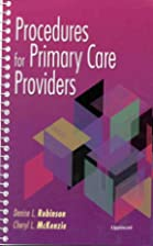 Procedures for Primary Care Providers by…