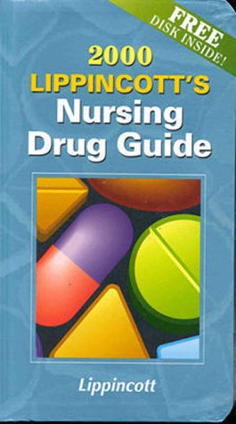 lippincotts-nursing-drug-guide-2000-book-with-diskette-for-windows