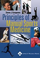 Principles of Manual Sports Medicine by…